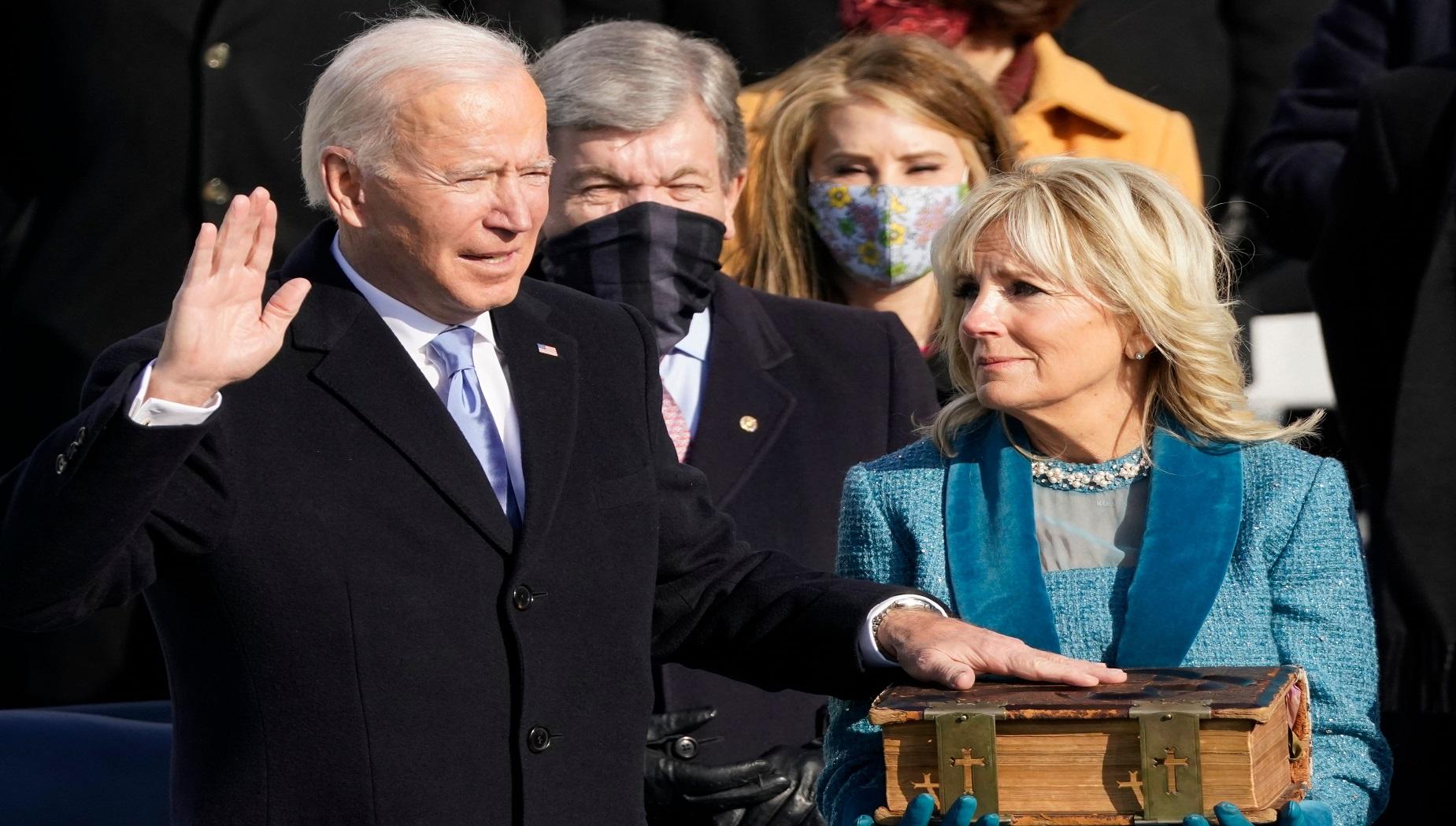 Giuramento Joe Biden