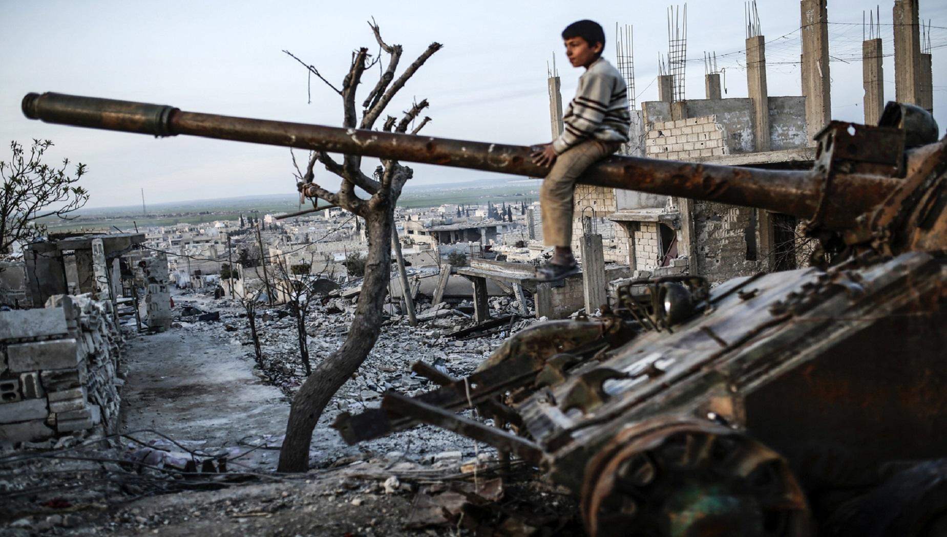 La storia spezzata della Siria